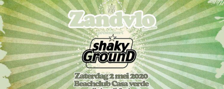 GEANNULEERD 26-09 Beachclub Casa Verde #1 Editie Zandvlo: Shaky Ground!